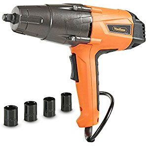 Vonhaus 8 5 Amp 1 2 Inch Impact Wrench Set With Hog Ring Anvil 260ft Lbs Torque I D Give It About 4 Stars Ve Used