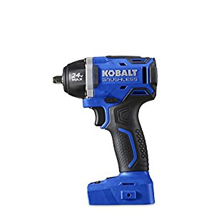 Kobalt 24 Volt Max 3 8 In Drive Cordless Impact Wrench Small Yet Powerful